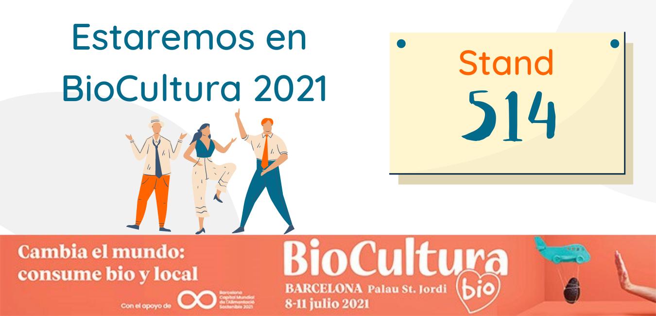 Estaremos en BioCultura 2021 - Co Agora